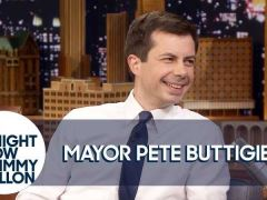 Pete Buttigieg Jimmy Fallon Interview