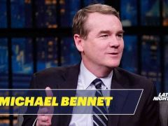 Michael Bennet Seth Meyers Interview