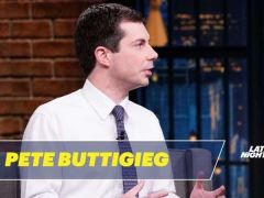 Pete Buttigieg Seth Meyers Interview
