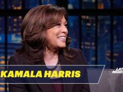 Kamala Harris Seth Meyers Interview