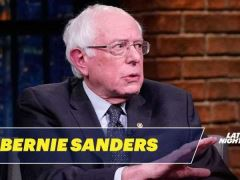 Bernie Sanders Seth Meyers Interview