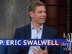 Eric Swalwell Stephen Colbert Interview