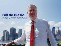 Bill de Blasio Presidential Campaign Announcement