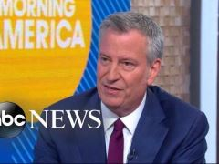 Bill de Blasio Good Morning America Interview