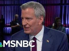 Bill De Blasio Chris Mathews Interview