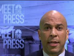 Cory Booker Meet the Press Interview