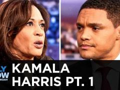 Kamala Harris Daily Show With Trevor Noah Interview