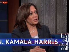 Kamala Harris Stephen Colbert Interview