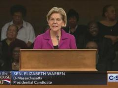 Elizabeth Warren at Rainbow PUSH Coalition Convention