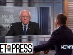 Bernie Sanders Meet The Press Interview