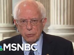 Bernie Sanders Velshi & Rule Interview