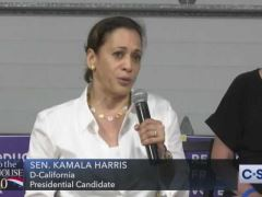 Kamala Harris Town Hall in Des Moines, Iowa
