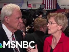 Elizabeth Warren Post Debate Interview MSNBC