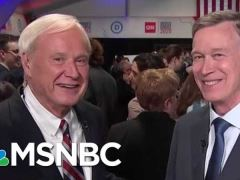 John Hickenlooper Post Debate Interview with Chris Matthews