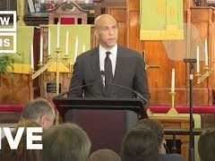 Cory Booker Speech on Gun Violence and White Nationalism at Emanuel AME Church