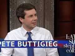 Pete Buttigieg Interview with Stephen Colbert