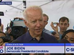 Joe Biden Iowa State Fair Press Conference