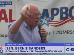 Bernie Sanders Iowa State Fair Speech