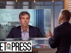Beto O'Rourke Meet The Press Interview