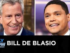 Bill de Blasio The Daily Show Interview