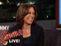 Kamala Harris Jimmy Kimmel Live Interview