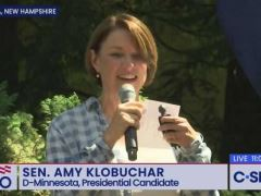 Amy Klobuchar Speech at House Party in Nashua, New Hampshire