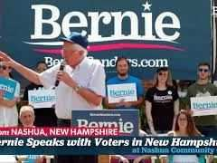 Bernie Sanders Town Hall in Nashua, New Hampshire
