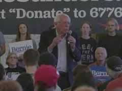 Bernie Sanders Town Hall in Claremont, New Hampshire