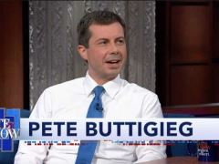 Pete Buttigieg The Late Show With Stephen Colbert Interview