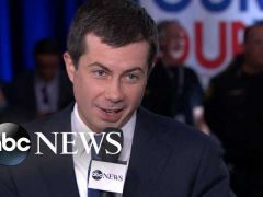 Pete Buttigieg Post Debate Interview With Tom Llamas