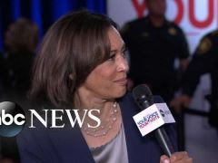 Kamala Harris Post Debate Interview With Tom Llamas