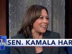 Kamala Harris Late Show With Stephen Colbert Interview