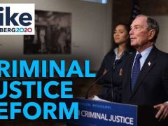 Mike Bloomberg Criminal Justice Reform Policy Proposals Speech in Jackson, MS