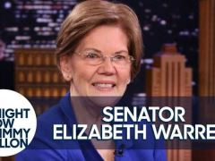 Elizabeth Warren The Tonight Show With Jimmy Fallon Interview