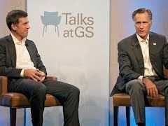 Mitt Romney Talks With Goldman Sachs Interview With John Waldron