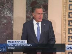 Mitt Romney Inaugural Speech on Senate Floor