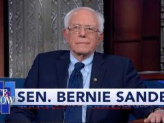 Bernie Sanders The Late Show With Stephen Colbert Interview
