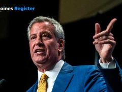 Bill de Blasio Iowa Democrat's Hall of Fame