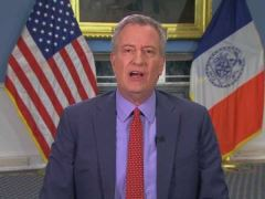 Bill de Blasio CNN Interview on Hospital Supply Shortage for Coronavirus Patients