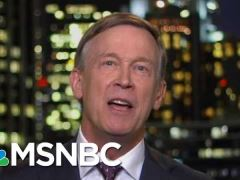 John Hickenlooper All In Interview with Chris Hayes