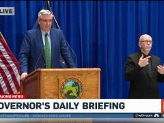 Eric Holcomb Gives