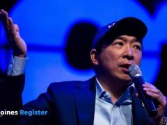 Andrew Yang Town Hall Des Moines
