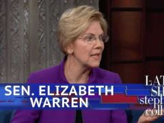 Elizabeth Warren Interview with Stephen Colbert
