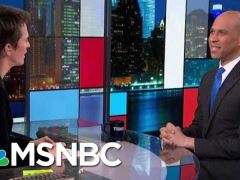 Senator Cory Booker Interview With Rachel Maddow