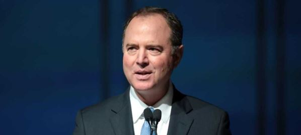 Adam Schiff speaking at the 2019 California Democratic Party State Convention.