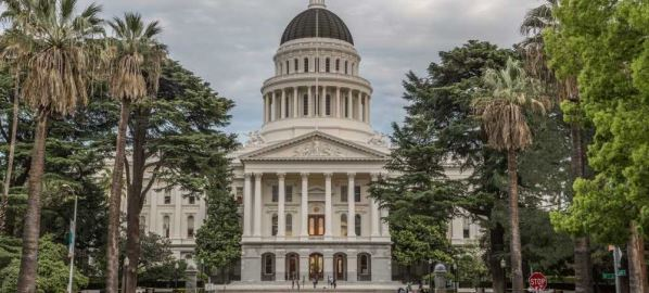 California State Capitol in Sacramento, California.