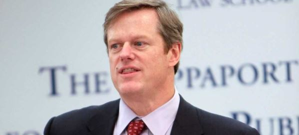 Charlie Baker speaking at Rappaport Center for Law and Public Service, 2010.