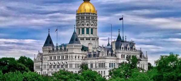 Connecticut State Capital in Hartford.