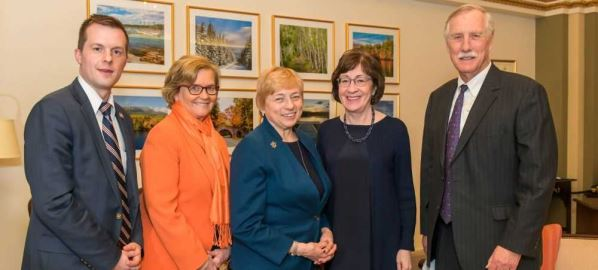 Governor Janet Mills meeting with Maine Senators and Representatives in Washington, D.C.
