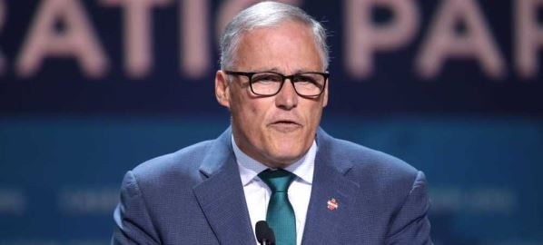 Gov Jay Inslee speaking at the 2019 California Democratic Party State Convention, 6/1/19.